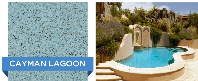 Cayman Lagoon Hydrazzo pool finish