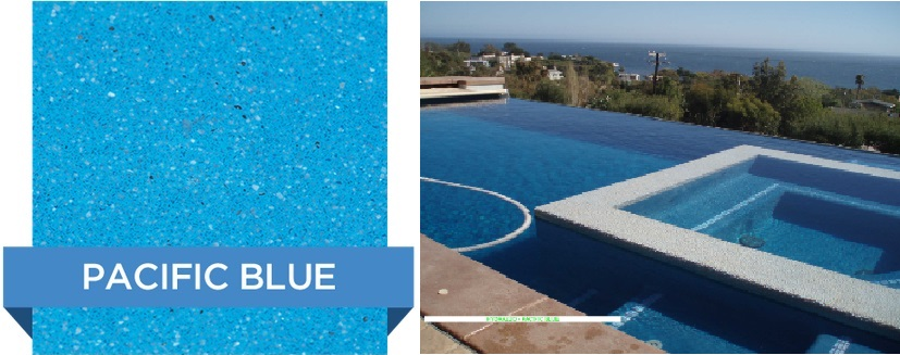 Pacific Blye Hydrazzo pool finish