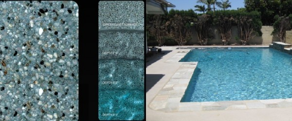 Pebble Tec Blue Lagoon pool finish