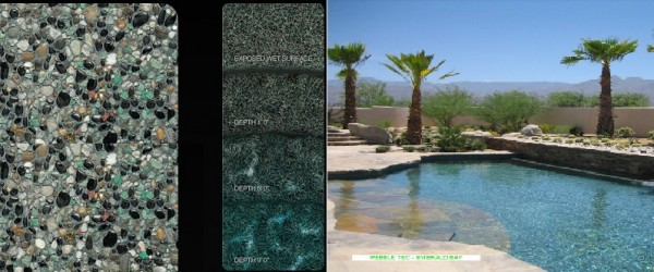 Pebble Tec Emerald Bay pool finish
