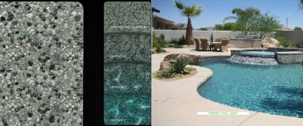 Pebble Tec Jade pool finish