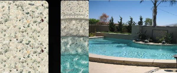 Pebble Tec Soft White pool finish