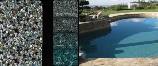 Pebble Tec Tropical Breeze pool finish